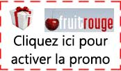 Code promo fruit rouge